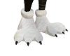 3 toed white feet M