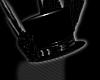 Gothic pvc Top Hat