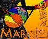 Rainbow Tennis Guitar