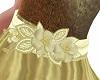 BC BEL BELT FLOWER GOLD