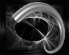 Demonic Horns-Chrome