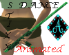 {Ama Dance Stick green