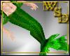 Merman Green Tail & Fins