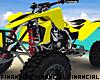 Yellow ATV Quad