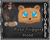 Bear Hand Muffs M/F DRV