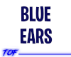 Blue Fox Furry Ear