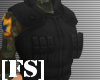 [FS] TACTICAL VEST BLACK