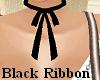 ! Black Ribbon Chocker !
