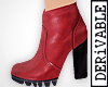 ! Red Leather