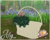 Water Lilies Basket