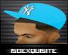 [ISE]NY LightBlue Hat