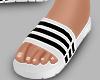 r. White Sandal