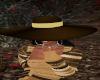 SF: Brown/Beige Hat