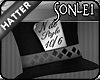 .S. Mad Hatter Top Hat