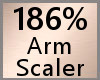 186% Arm Scaler F A
