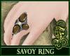 Savoy Ring Brown