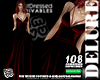 ! 108 Gown Red