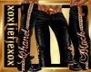 [L]  Black Pants M