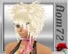 hair flom.spiky blond
