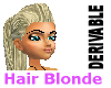 Hair Blonde Derivable