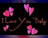 i love you baby sticker