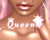 QUEEN.  white gold ring