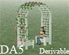 (A) Trellis Flower Chair