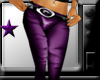 *purple leather pants