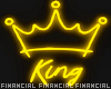 King Neon Sign