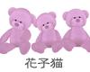 Teddy Bears PINK