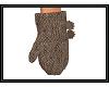 {G} Brown Mittens
