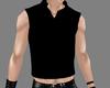 !M! Black Long Vest