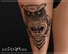 SCR, Owl Leg Tatt RLL