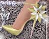 spring heels yellow