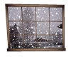 Window Snowing Animated