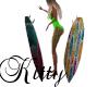 (K)Surfboard kissing