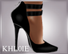 K wispe black heels