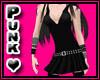 Black V Dress