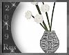 Rus: PARIS flower vase