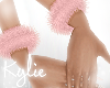 Dolly Pink Fur WristBand