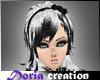 #D Kosumi white black