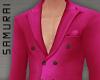 #S Solid Suit B #Fuchsia