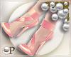 Couture Pumps Peach