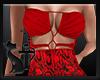 Dress Snake Red