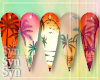 Hawaiian Tropics | Nails