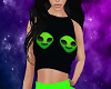 Alien Freak Top