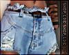 Ripped Jeans Stem/Stud