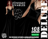 ! 108 Gown Black