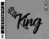 ✘ King Headsign