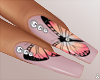 $ Butterfly  Nails